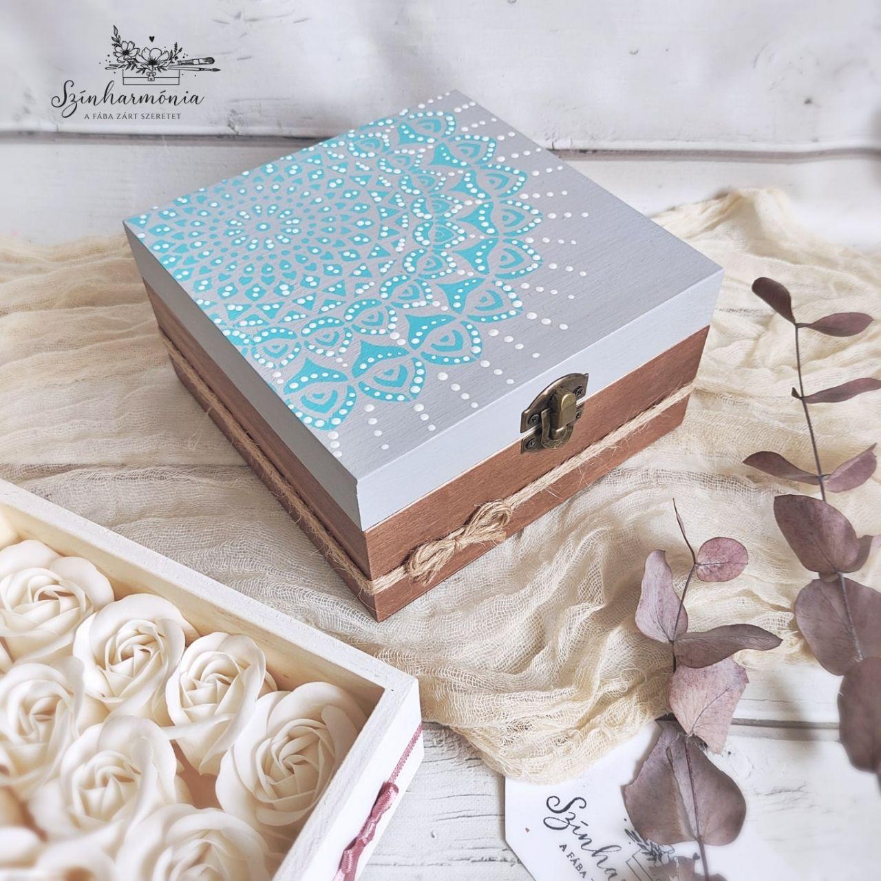 Tengerszem Mandala doboz